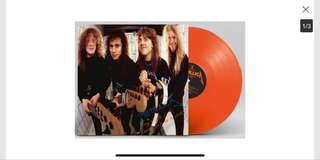 Metallica - The $5.98 EP - Garage Days Re-Revisited Orange Vinyl RSD 2018