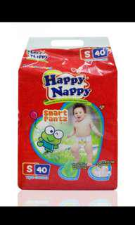 Happy nappy baby diaper size S - 40