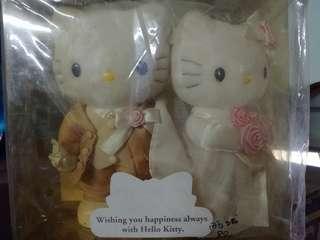 Hello Kitty結婚公仔ㄧ對