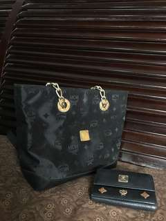 MCM bag and Wallet