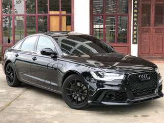 Audi A6 convert Rs6 bodykit Available for rent