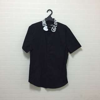 Love Moschino Black Short Sleeve Shirt