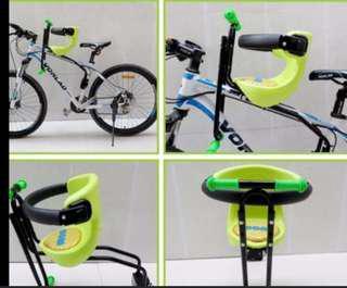 Front mounting baby bike seat