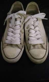 convers white broken (putih tulang)
