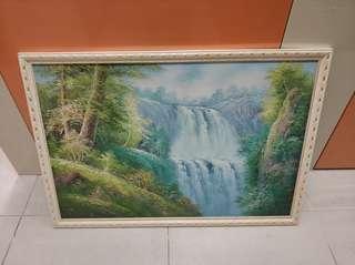 油畫 60乘90 cm