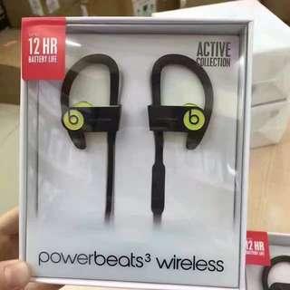 全新3代 魔音 Beats Powerbeats 3 Wireless PB 耳掛式耳機 藍牙無線運動耳機 正貨