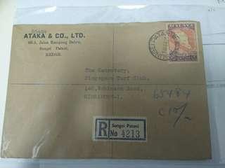 Federation of malaya stamp 1963
