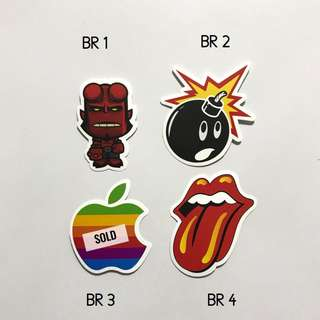 [NEW] Waterproof Luggage Stickers /Laptop Stickers