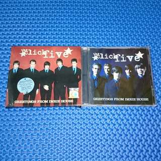 🆒 The Click Five - Greetings From Imrie House (Special Edition) [2005] Audio CD