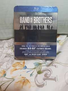 Blu Ray Brand of Brothers Steel Box Edition BNIB 100% Original