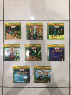 Buku cerita dinosaurun train (mini n english)