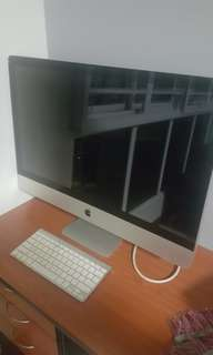 Imac 27 inch (cant turn on)