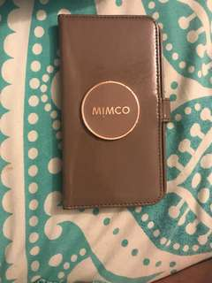 MIMCO iPhone 7 Plus leather flip case