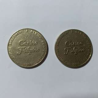 【興趣收藏】Casino Filipino (Pagcor) token