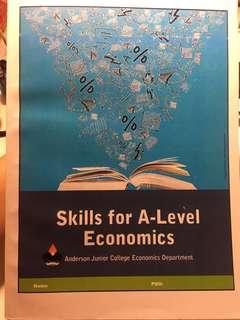 Skills for A-Level Economics