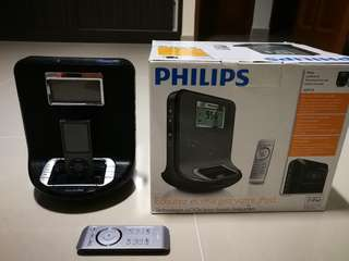 Philips docking entertainment system AJ30IDB (ipod nano included)
