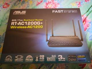 Asus AC-1200G+ 802.11ac Dual Band Wireless Router