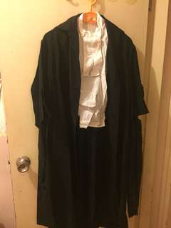 [90% new] 律師袍