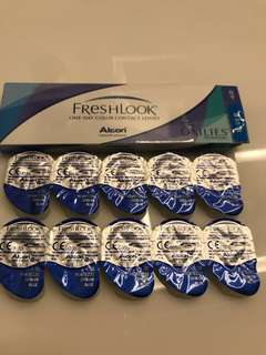 Freshlook one day color contact lenses dailies