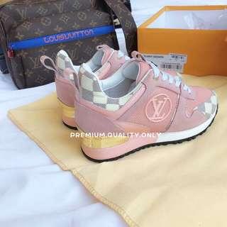 LV Runaway Sneaker Damier Azur - Pink