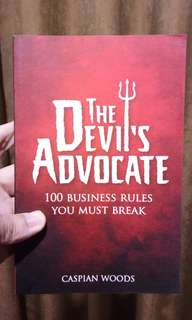 💯 RECOMMENDED!! THE DEVIL'S ADVOCATE (100 Business Rules You Must Break)