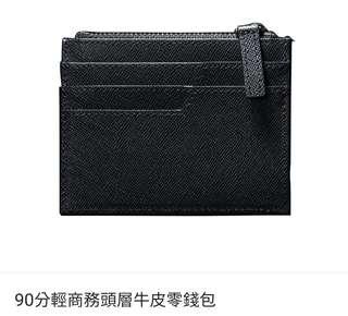 全新mi coins card wallet小米牛皮可放八達通咭錢幣包