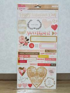 Crate Paper 'Kiss Kiss' Accent Stickers