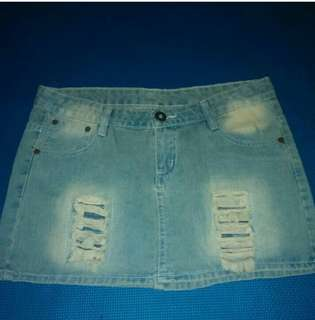 Rok ripper jeans