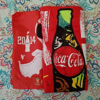 COCA-COLA FIFA WORLD CUP 2014 BEACH TOWEL