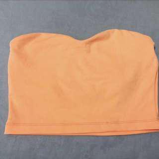 Orange Kookai crop top