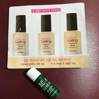 Makeup Essentials Samples