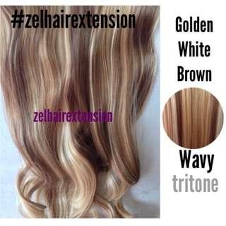 Tri-color Hair Extension