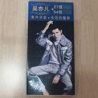 吴亦凡Kris Wu Yifan 27 Postcard & 54 Minipoker