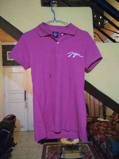#FreeOngkir purple shirt