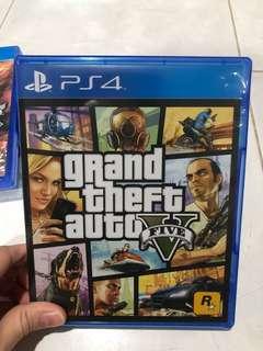PS4 Game Grand Theft Auto V