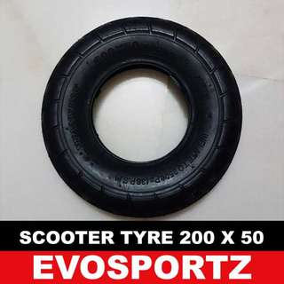 Scooter Tyre (200 x 50)