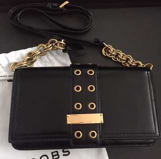 Marc Jacobs Lock and Strap Crossbody Bag