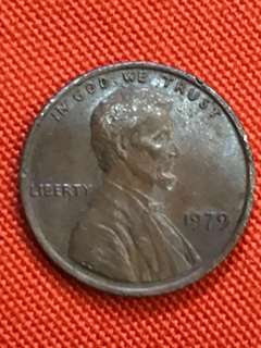 US Coin: 1979 One Cent Lincoln Penny