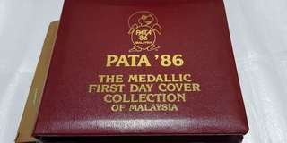 Pacific Area Travel Association (PATA) 86 Medallic First Day Cover.