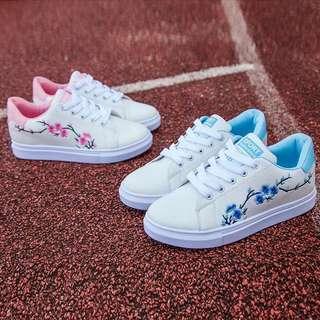 Flower Rose Shoes Sneaker