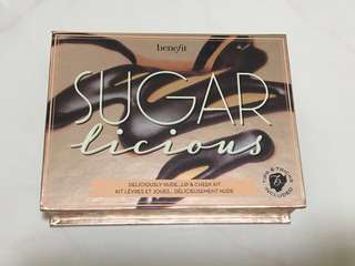 🚚 Benefit Sugarlicious sugarbomb kit