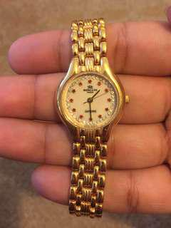 Roscani 23k gold plated watch [MUST GO NOW!]