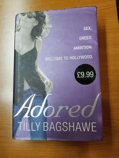 "Tilly Bagshawe ""Adored"" Hardbound Book"