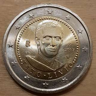2017 Italy 2 Euro Coin