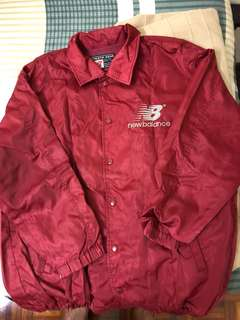 Coach Jacket windbreaker New Balance Boston