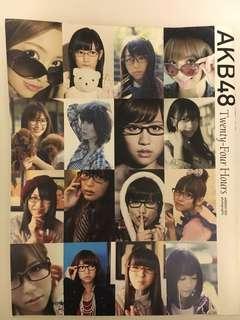 AKB48 Twenty-four Hours 眼鏡 寫真集