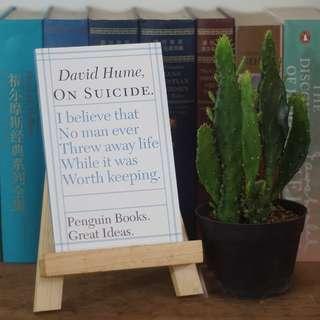 On Suicide - David Hume