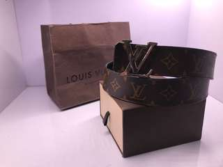 lv louis vuitton reversible belt