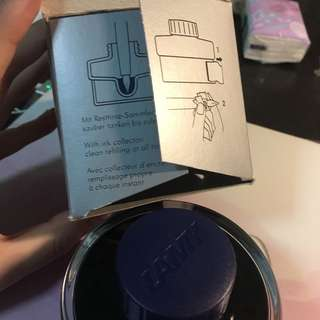Lamy bottled ink 50ml-dark blue