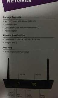 Wifi Netgear AC1200